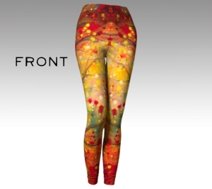 Lynn Spencer-Nelson ~ Artist / fire-oak-leggings-1-front