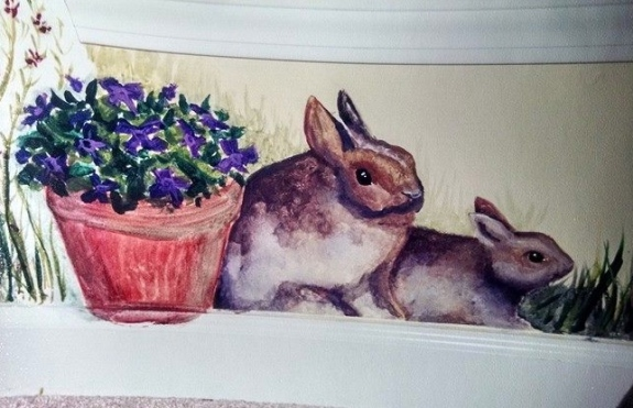 Megan's Room ~ Bunnies by Lynn Spencer-Nelson