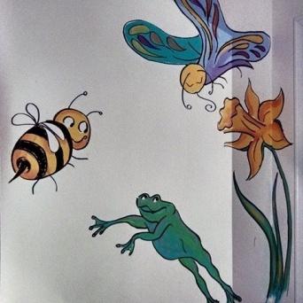 Upton's Mural by Lynn Spencer-Nelson
