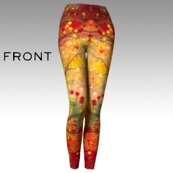 Fire Oak Leggings 1 front