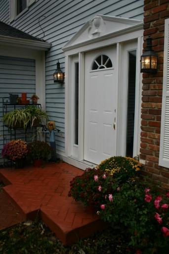 Front Door Pin Oak