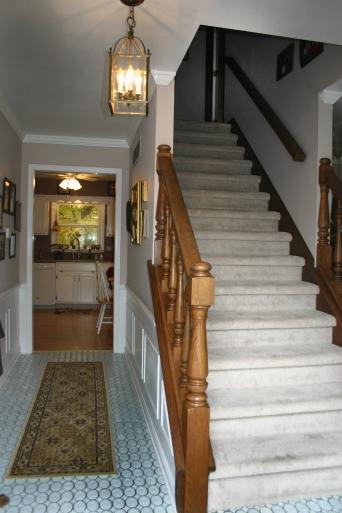 Stairs Pin Oak